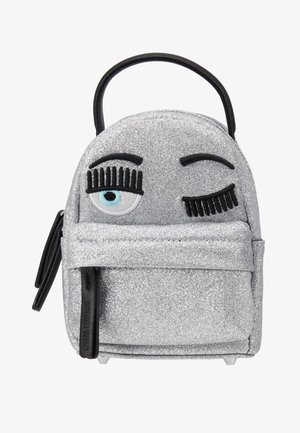 FLIRTING GLITTER MINI BACK PACK - Ryggsekk - silver