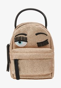 CHIARA FERRAGNI - FLIRTING GLITTER MINI BACK PACK - Batoh - gold - 6