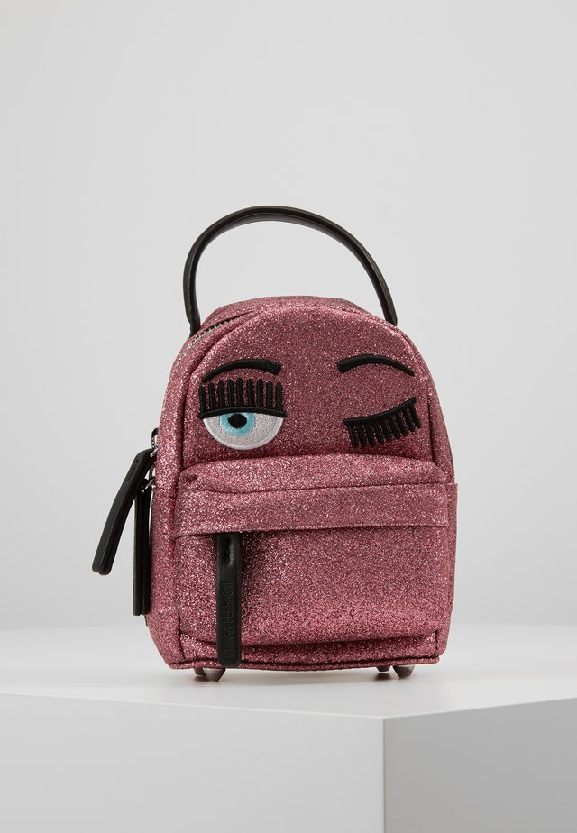 FLIRTING GLITTER MINI BACK PACK - Rucksack - pink