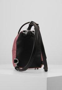 CHIARA FERRAGNI - FLIRTING GLITTER MINI BACK PACK - Batoh - pink - 2