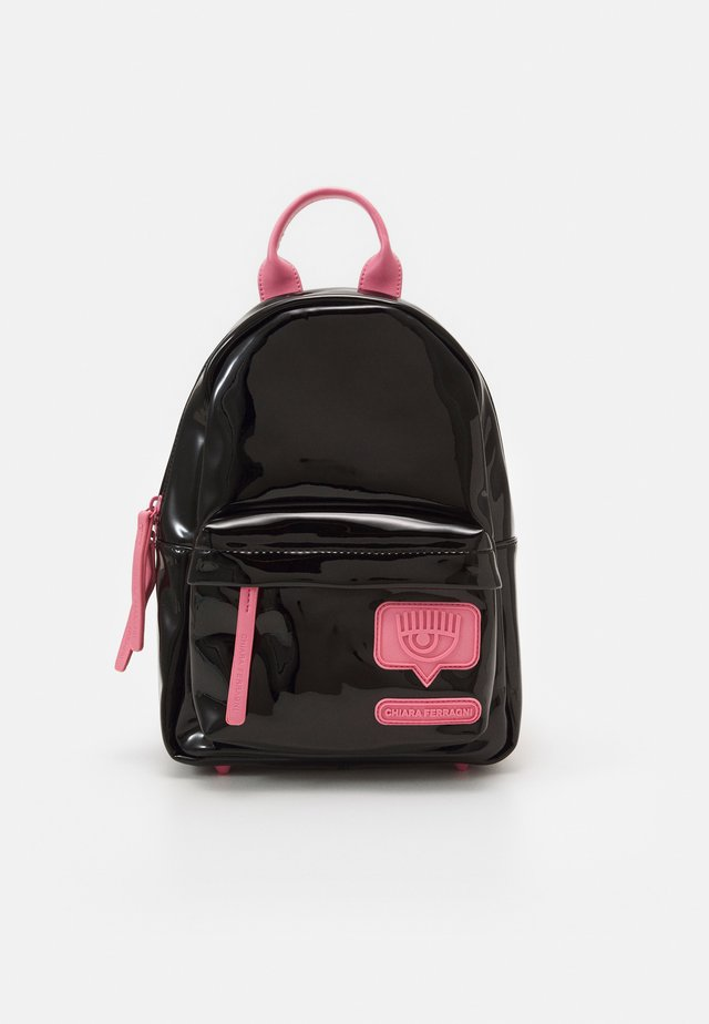 SMALL EYELIKE BACKPACK - Tagesrucksack - black