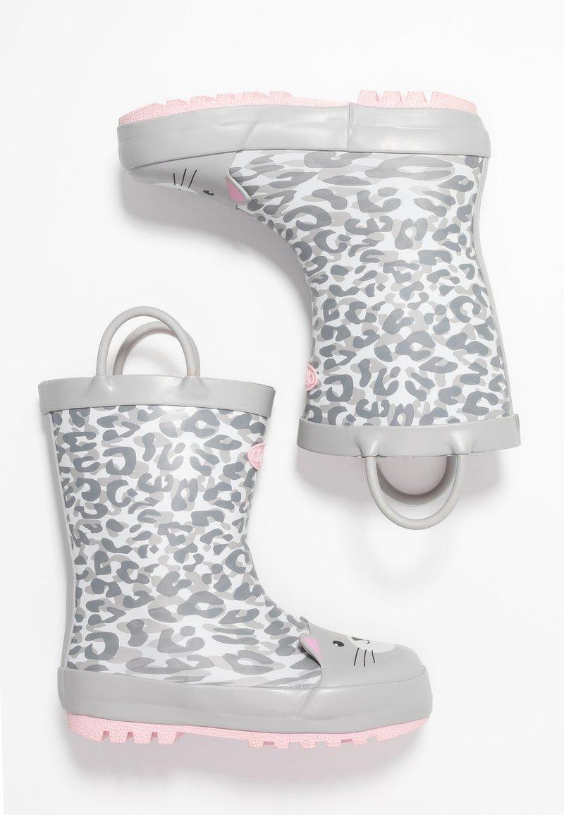Chipmunks - PHOEBE - Bottes en caoutchouc - grey/white
