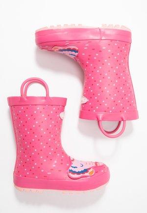CHARLOTTE - Bottes en caoutchouc - pink