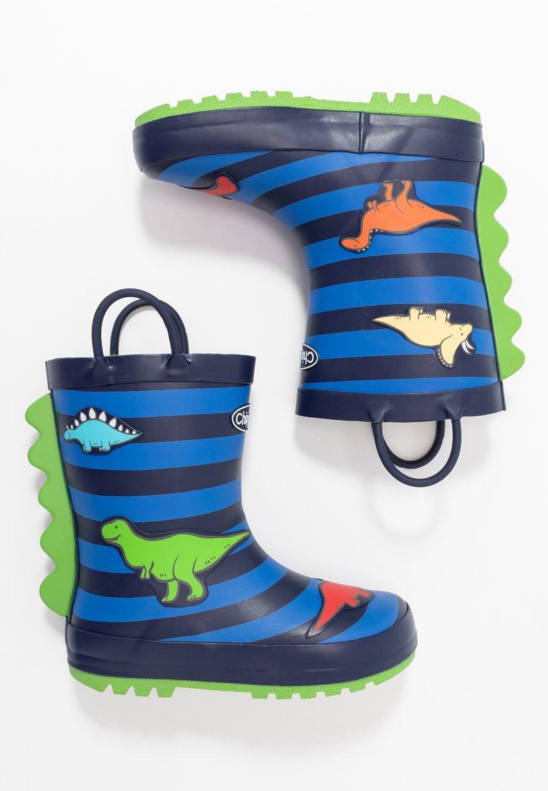 Chipmunks - JURASSIC - Bottes en caoutchouc - dark blue