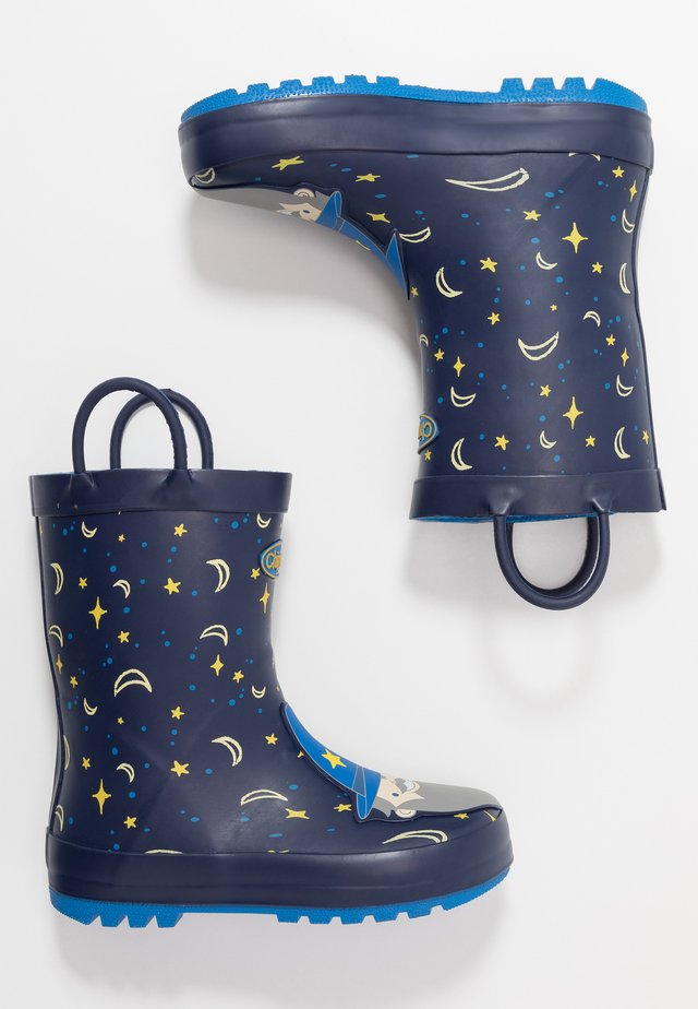 MERLIN - Gummistiefel - dark blue