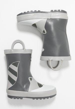 RIVER - Bottes en caoutchouc - black/grey