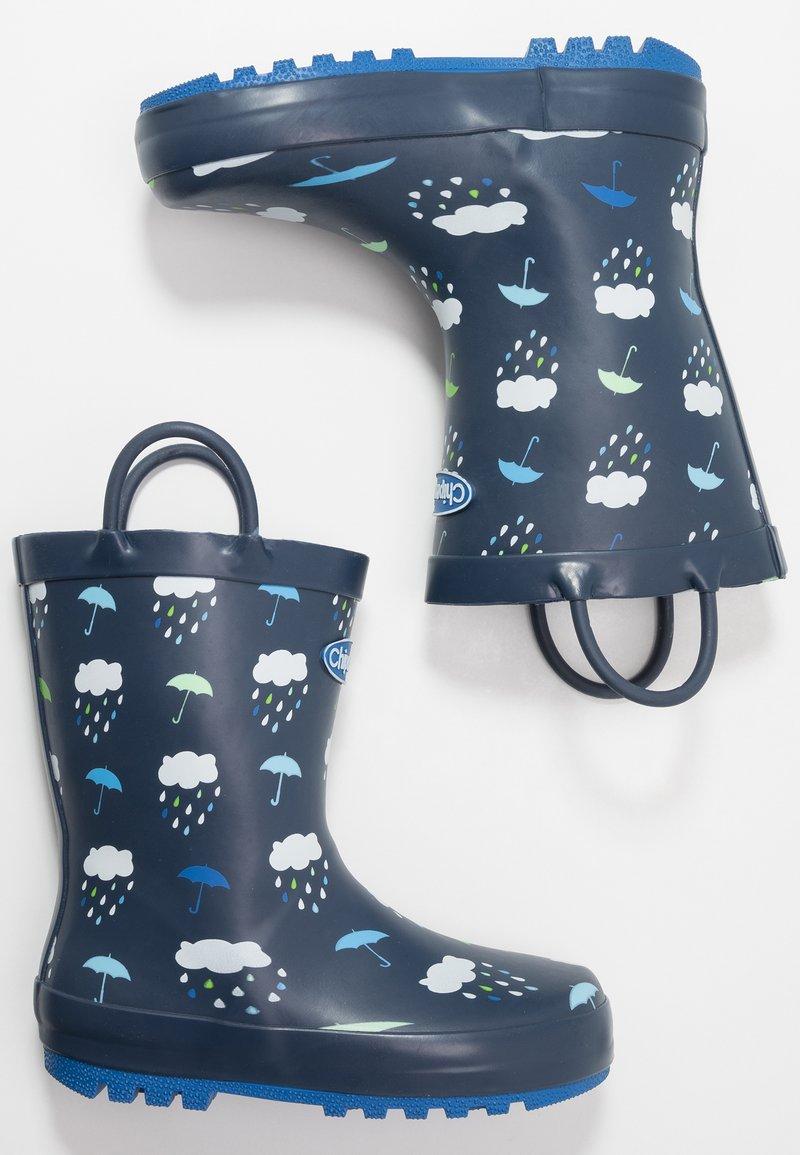 Chipmunks - RAIN - Bottes en caoutchouc - navy