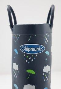 Chipmunks - RAIN - Bottes en caoutchouc - navy - 2