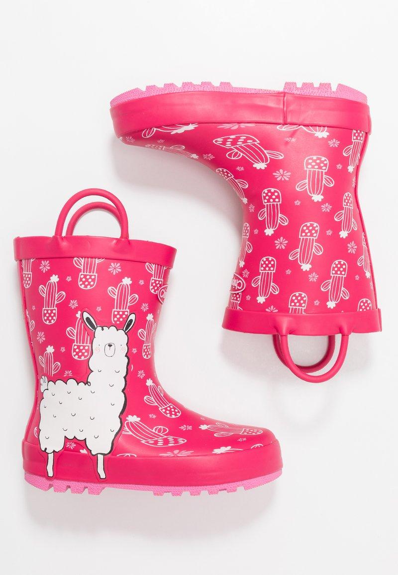 Chipmunks - LENA - Bottes en caoutchouc - pink