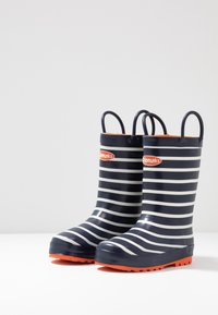 Chipmunks - JACK - Wellies - navy/white - 3