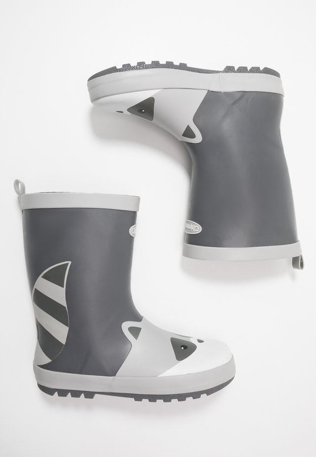 RIVER - Wellies - black/grey