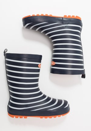 JACK - Wellies - navy/white