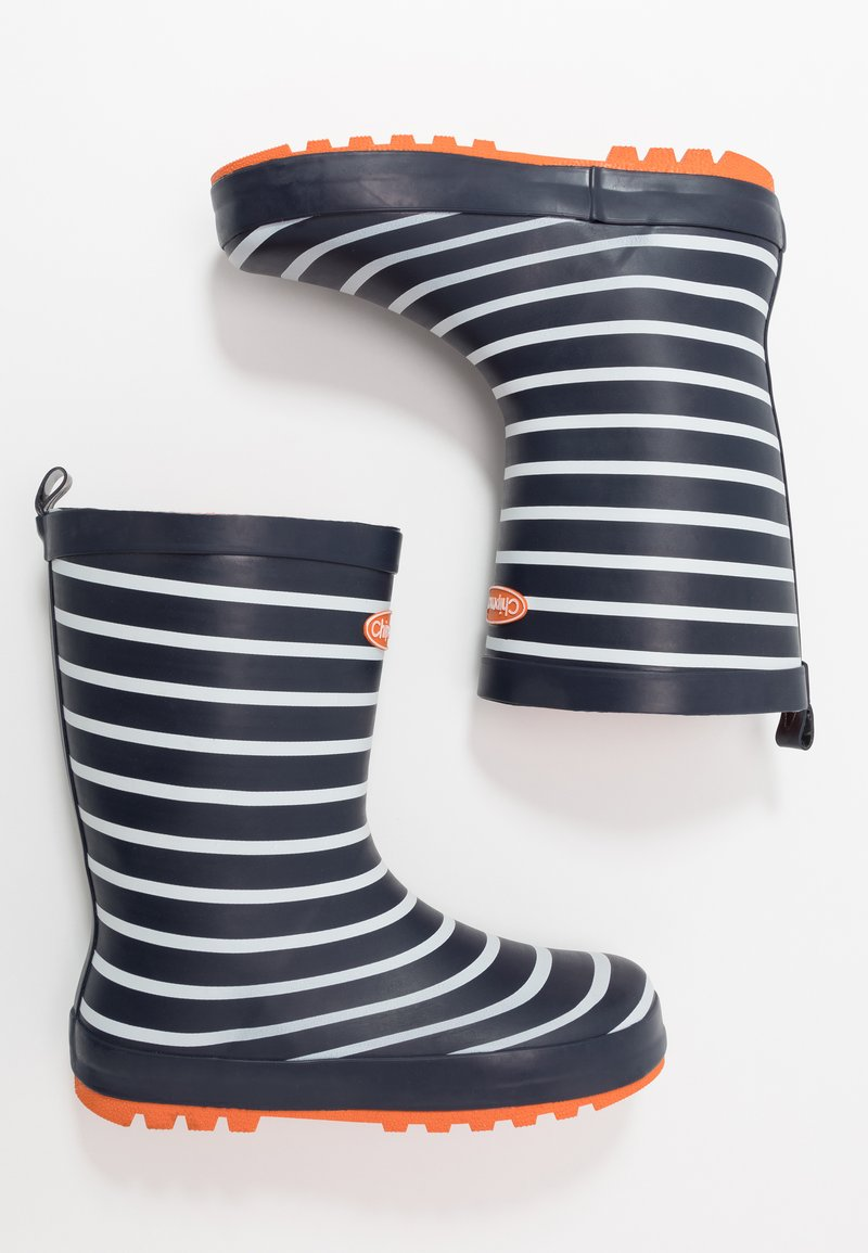 Chipmunks - JACK - Wellies - navy/white