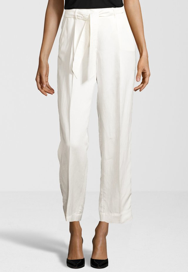 HOSE CISOFIA - Trousers - offwhite