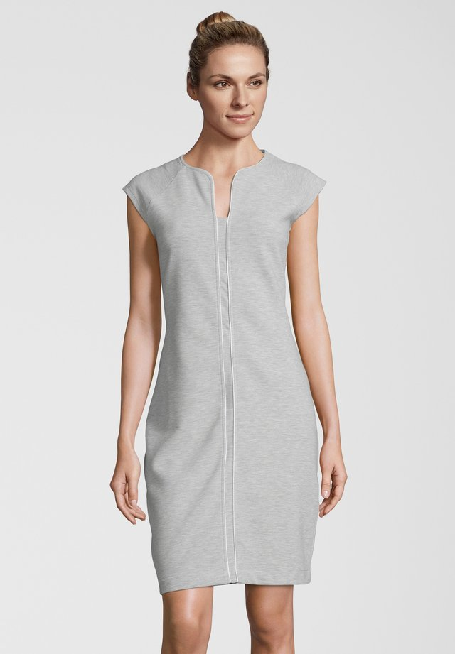 JERSEYKLEID CIMOIRA - Jersey dress - hellgrau