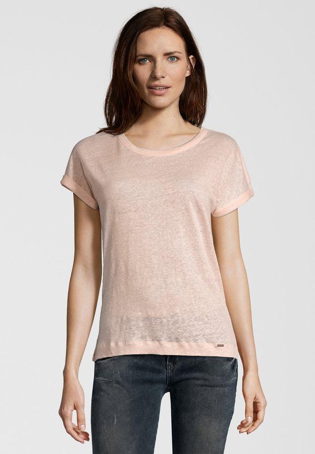 LEINENSHIRT CILEIA - Bluse - light pink