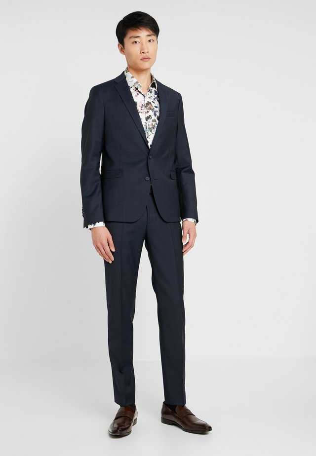 CIMELOTTI SLIM FIT - Costume - dark blue