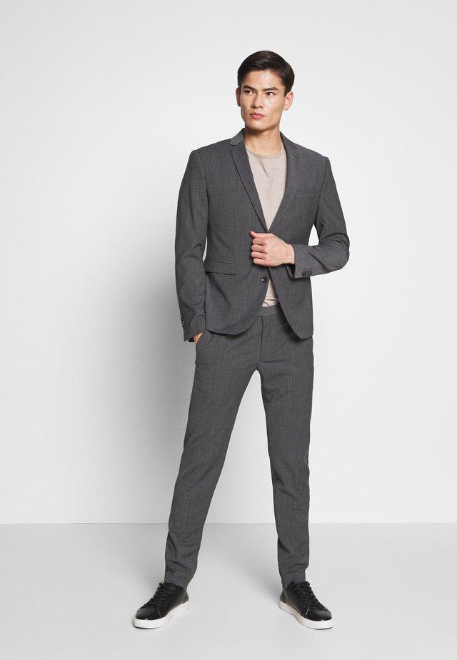 CIPULETTI SUIT - Kostym - dark grey