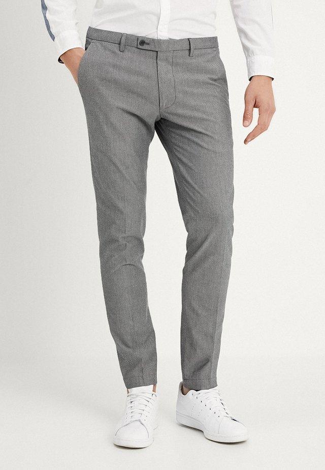 CIBRAVO SLIM FIT - Trousers - grey
