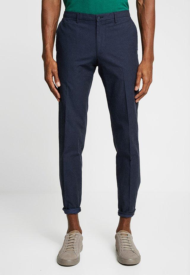 CIBRODY - Spodnie materiałowe - dark blue