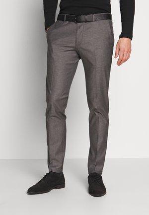 CIBRAVO TROUSERS - Pantalon classique - anthracite