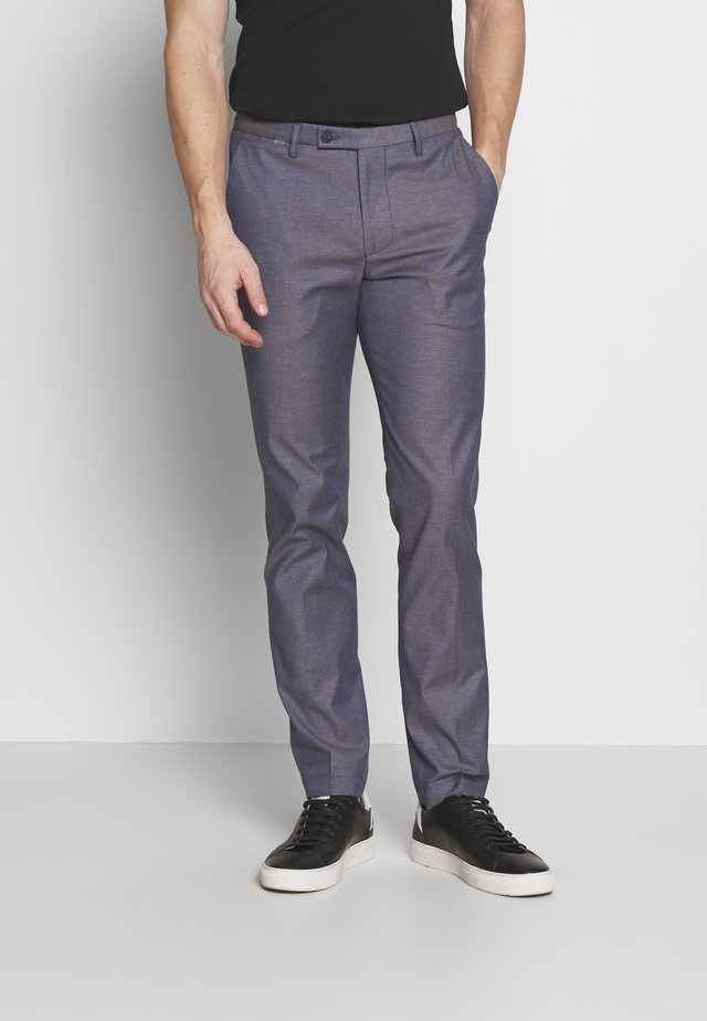 CIBRAVO TROUSERS - Tygbyxor - dark blue