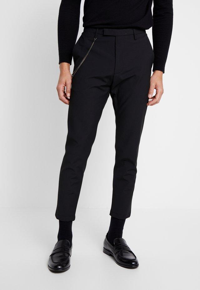 CIBEPPE  - Trousers - black