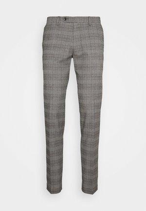 CIBRAVO - Trousers - brown/grey