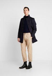 Cinque - CILIVERPOOL COAT - Zimní kabát - dark blue - 1