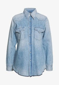 Citizens of Humanity - JULES SLIM WESTERN - Button-down blouse - blue - 0