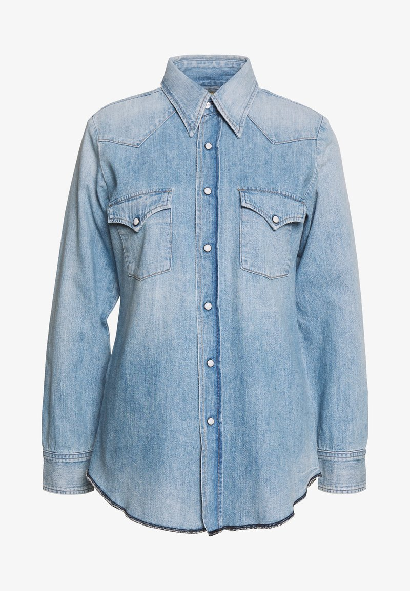 Citizens of Humanity - JULES SLIM WESTERN - Button-down blouse - blue
