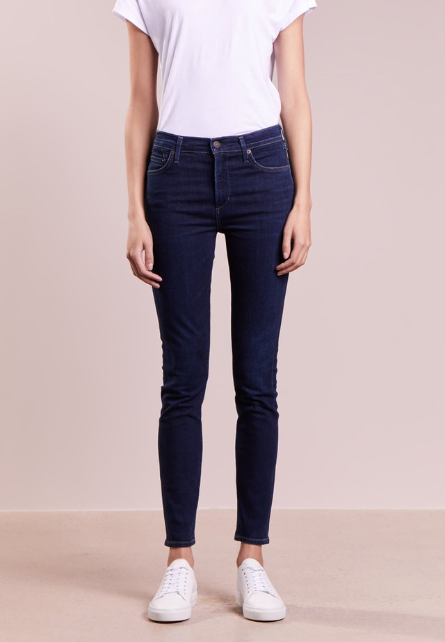 ROCKET CROPPED SCULPT - Jeans Skinny Fit - galaxy
