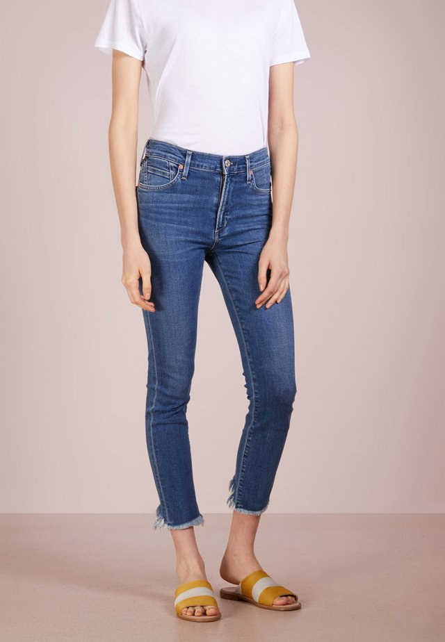 ROCKET CROPPED - Jeans Slim Fit - frequency