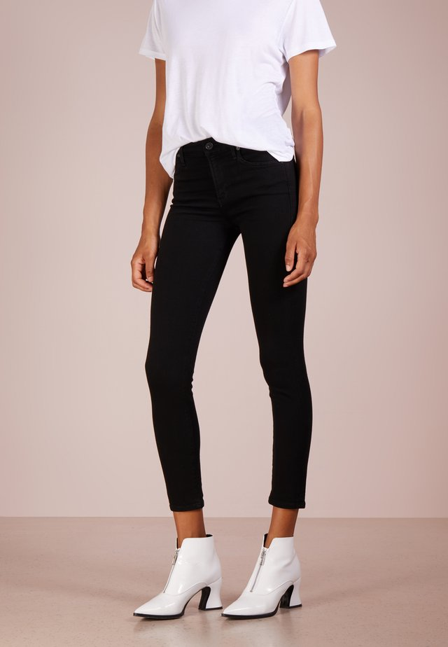 Slim fit jeans - all black