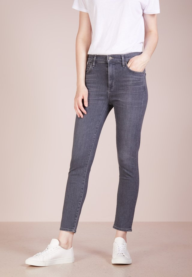 ROCKET CROPPED - Jeansy Skinny Fit - moon dance