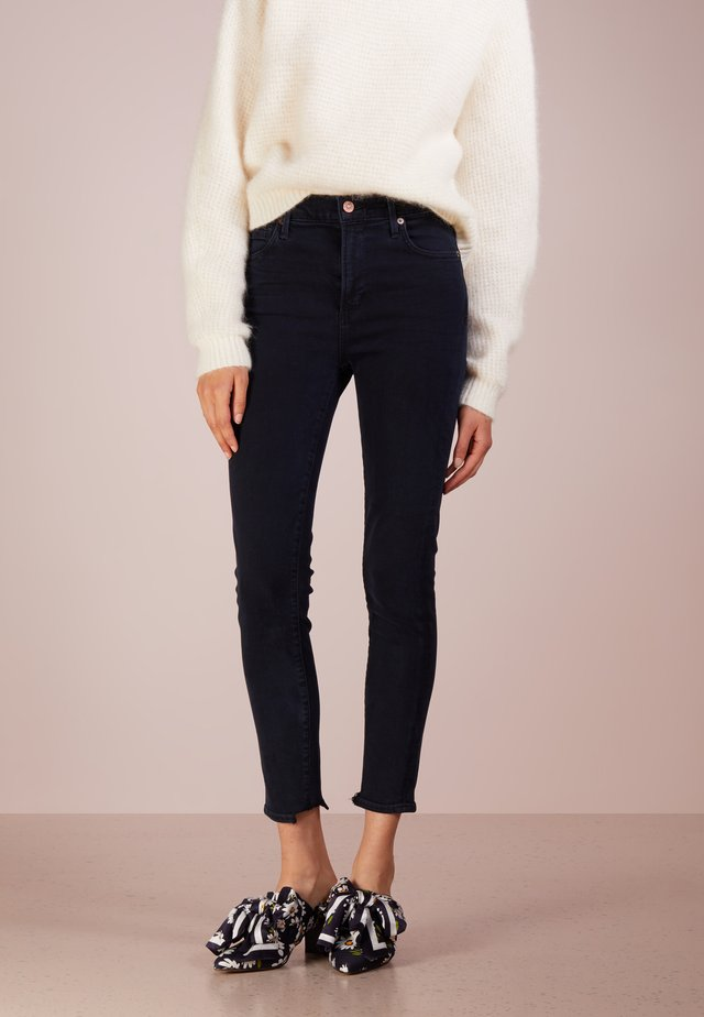 ROCKET CROPPED SKINNY - Jeans Skinny Fit - blue sculpt