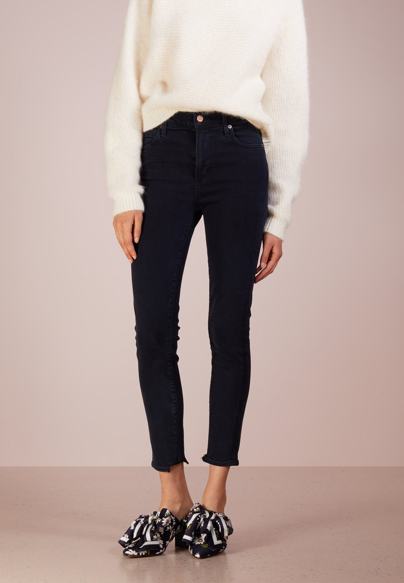 Citizens of Humanity - ROCKET CROPPED SKINNY - Jeans Skinny Fit - blue sculpt