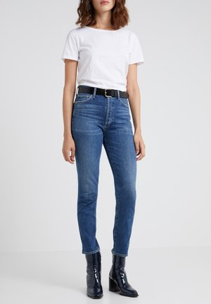OLIVIA HIGH RISE ANKLE - Jean droit - solo