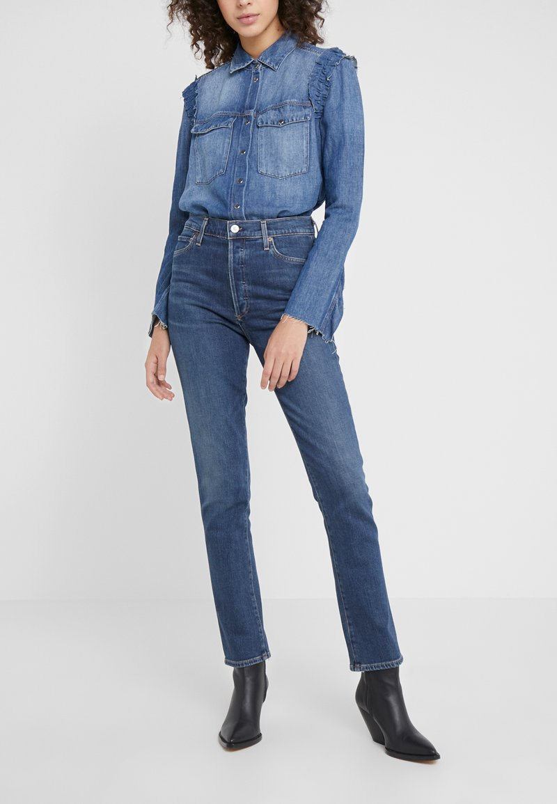 Citizens of Humanity - OLIVIA LONG - Jeans Slim Fit - shyness