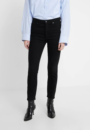 OLIVIA ANKLE - Džíny Slim Fit - black