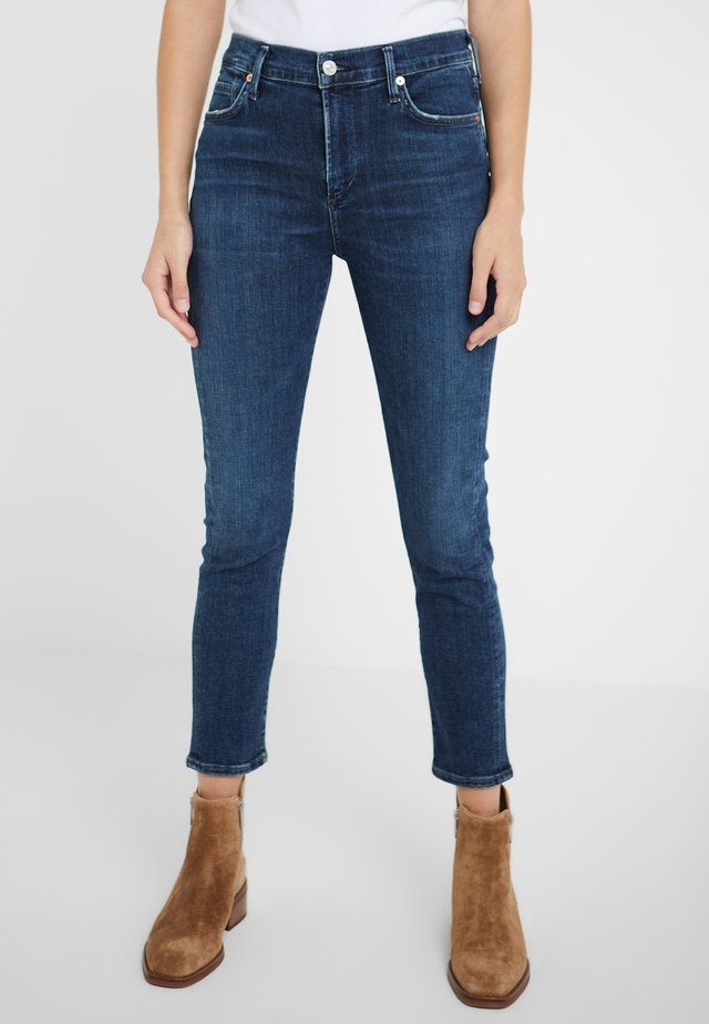 ROCKET CROPPED - Jeansy Skinny Fit - alto