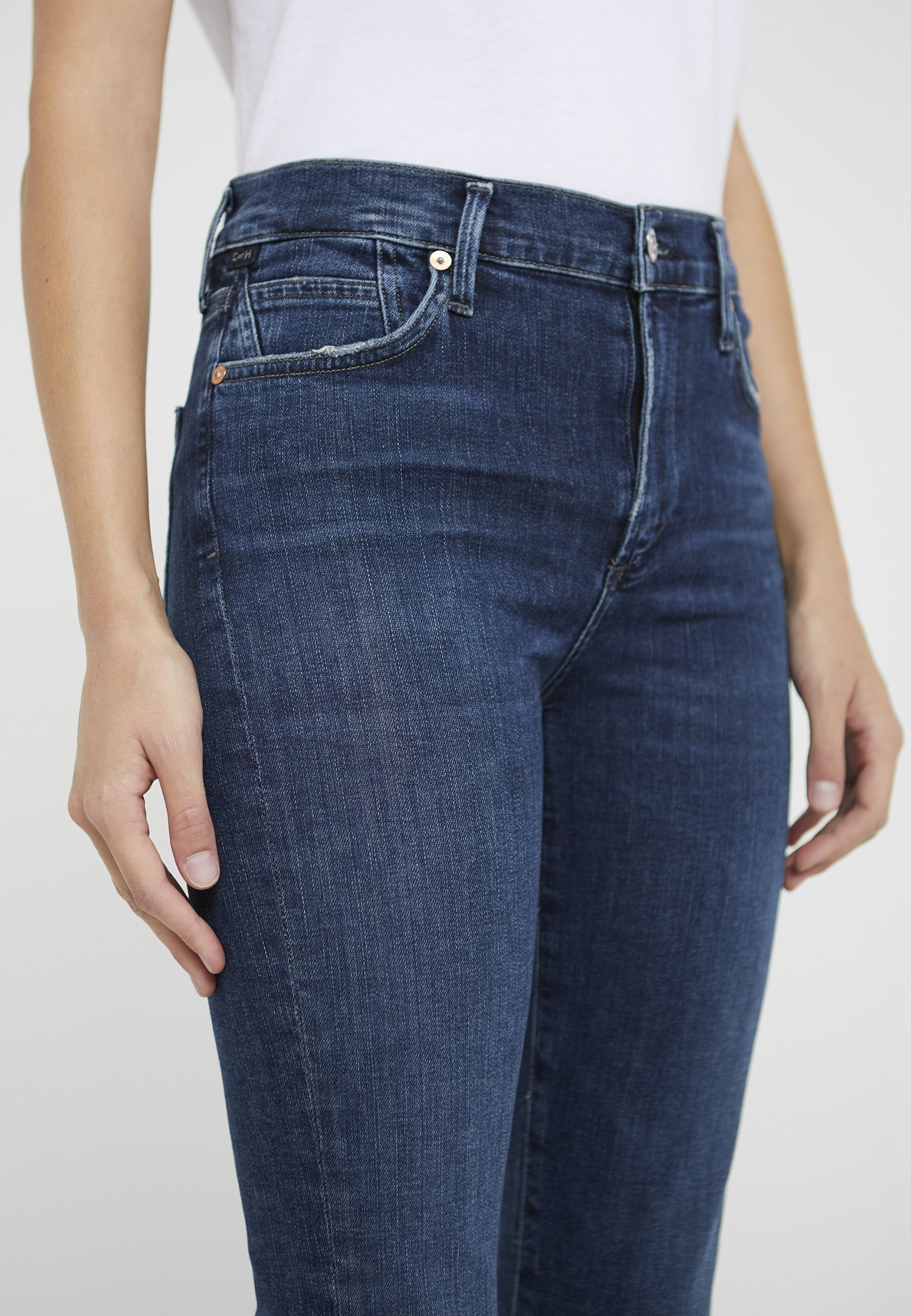 Citizens of Humanity ROCKET CROPPED - Jeansy Skinny Fit - alto