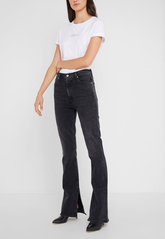 GEORGIA HIGH RISE - Jeans bootcut - oblivion