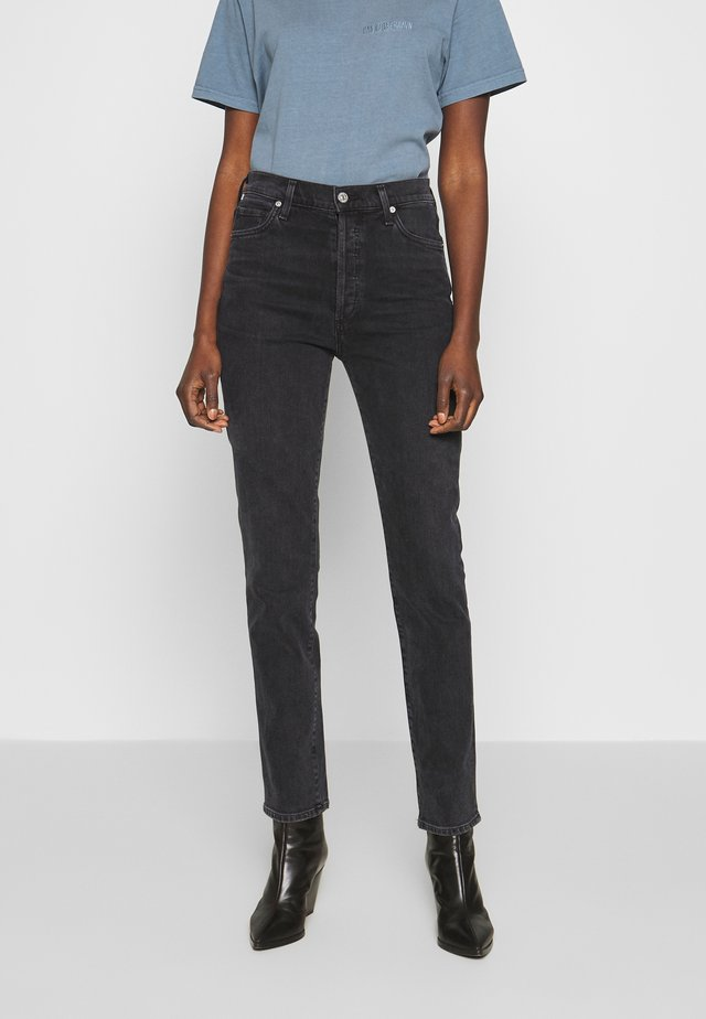 OLIVIA LONG HIGH RISE SLIM - Jeans slim fit - obli