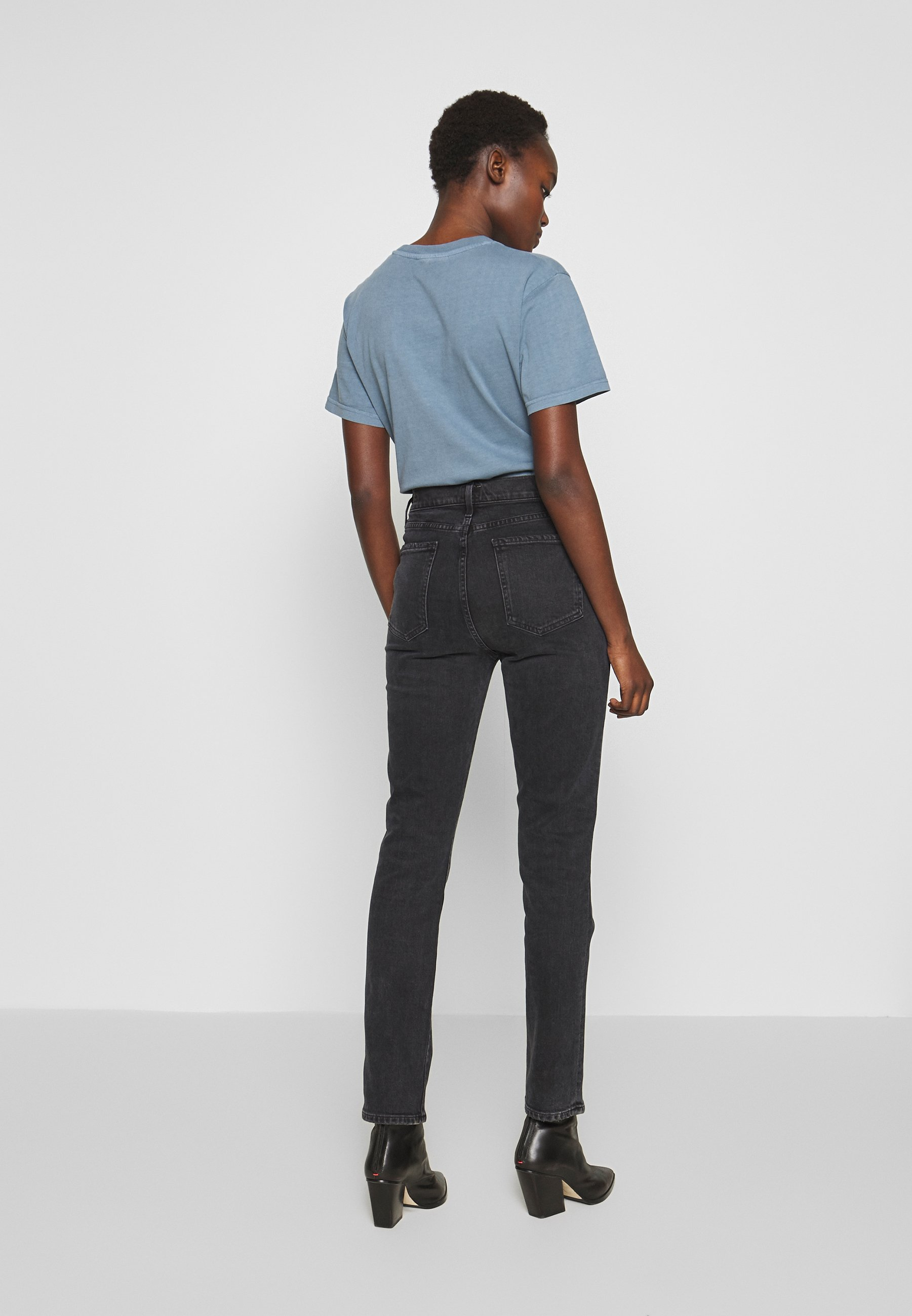 Citizens of Humanity OLIVIA LONG HIGH RISE SLIM - Jeansy Slim Fit - obli