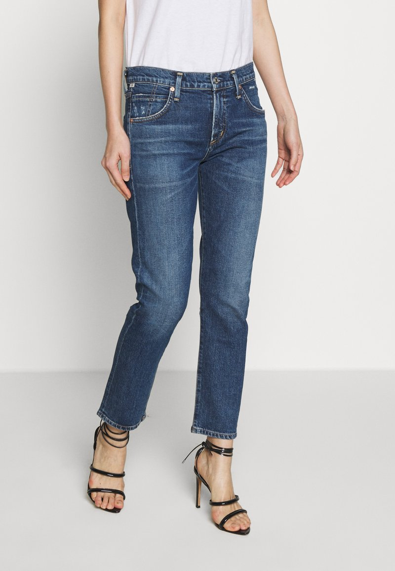 Citizens of Humanity - ELSA MID RISE SLIM FIT CROP - Džíny Relaxed Fit - preld