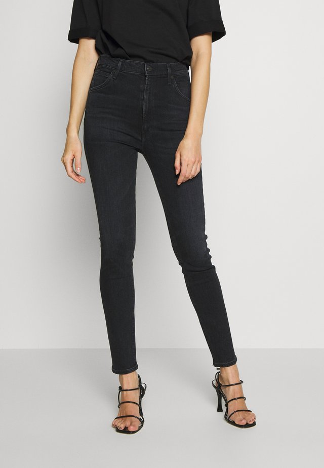 CHRISSY  - Jeans slim fit - black