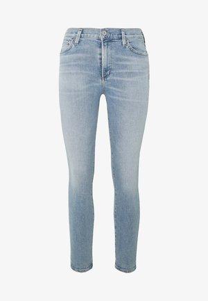 ROCKET CROP MID RISE  - Jeans Skinny Fit - blue denim