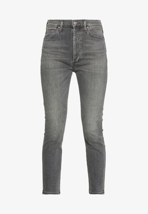OLIVIA - Slim fit jeans - grey