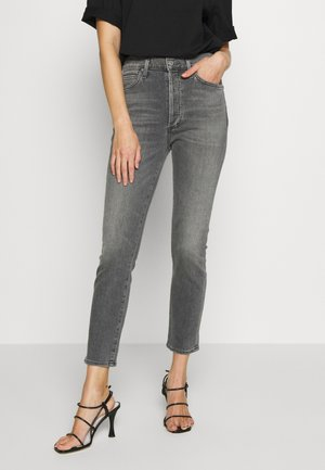 OLIVIA - Jeansy Slim Fit - grey